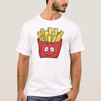 Emoji French Fries T-Shirt