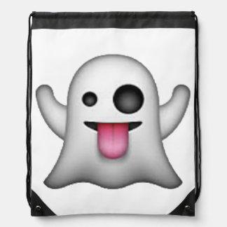 Emoji - Ghost Drawstring Bag