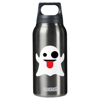 Emoji Ghost Insulated Water Bottle