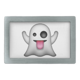 Emoji - Ghost Rectangular Belt Buckle