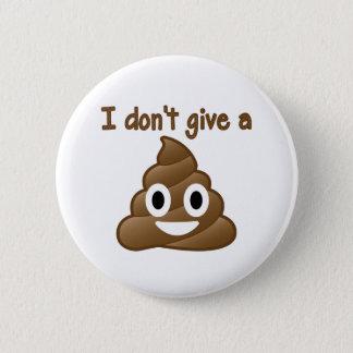 Emoji Give A Poo 2 Inch Round Button