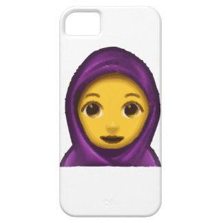 emoji hajib iPhone 5 cover