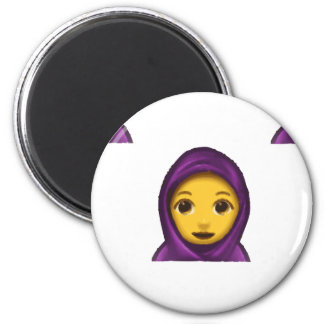 emoji hajib magnet