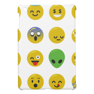 Emoji happy face iPad mini case