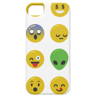 Emoji happy face iPhone 5 case