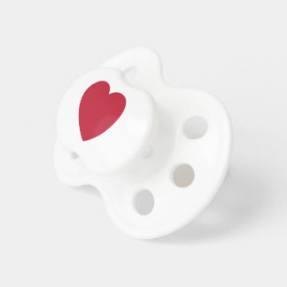 Emoji Heart Coils Pacifier