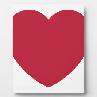 Emoji Heart Coils Plaque