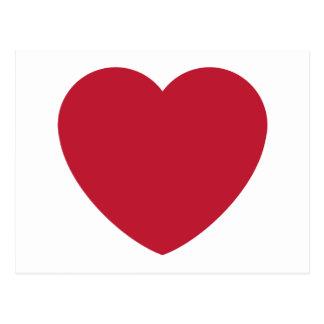Emoji Heart Coils Postcard