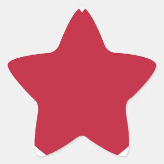 Emoji Heart Coils Star Sticker