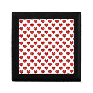 Emoji Heart Shape Drawing Pattern Gift Box