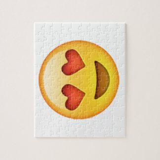 Emoji - Heart-Shaped Eyes Jigsaw Puzzle