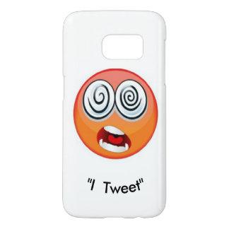 """Emoji """"I Tweet"""" by ReneeAB9 Samsung Galaxy S7 Case"""