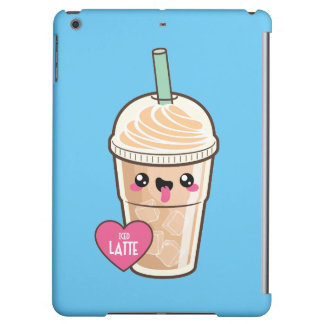 Emoji Iced Latte iPad Air Covers
