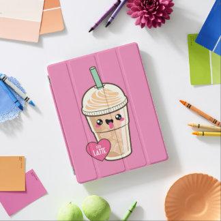 Emoji Iced Latte iPad Cover