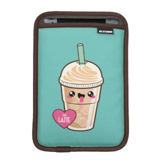 Emoji Iced Latte iPad Mini Sleeve
