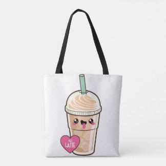 Emoji Iced Latte Tote Bag