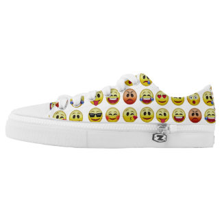 Emoji Icon Faces Low Top Shoes