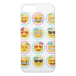 Emoji iPhone 7, Barely There Cell Phone Case