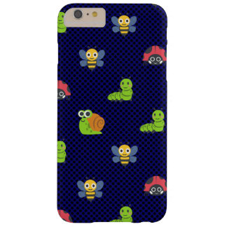 emoji lady bug caterpillar snail bee polka dots barely there iPhone 6 plus case