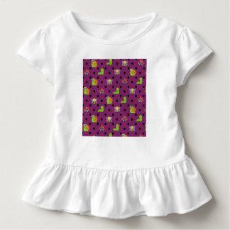 Emoji lady bug snail bee caterpillar polka dots toddler t-shirt