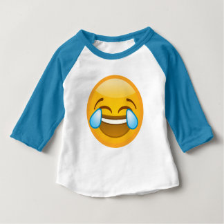 Emoji Laugh Baby T-Shirt