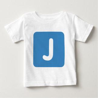 Emoji Letter J Twitter Baby T-Shirt