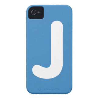 Emoji Letter J Twitter iPhone 4 Cover