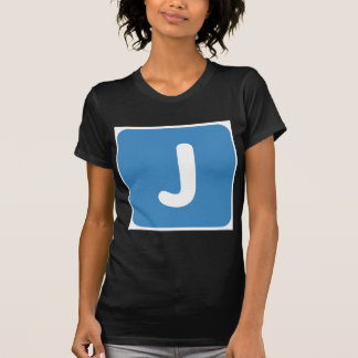 Emoji Letter J Twitter T-Shirt
