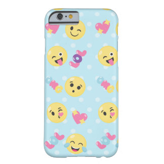 Emoji LOL OMG Barely There iPhone 6 Case