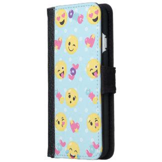 Emoji LOL OMG iPhone 6 Wallet Case