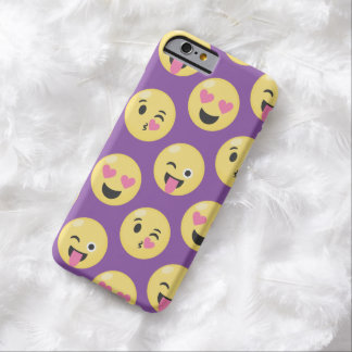 Emoji Love Pattern Barely There iPhone 6 Case