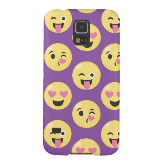 Emoji Love Pattern Case For Galaxy S5