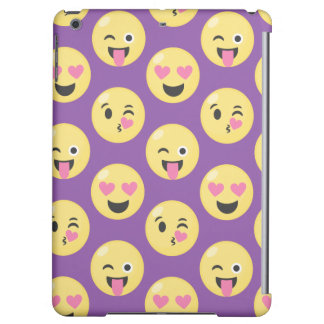 Emoji Love Pattern Cover For iPad Air