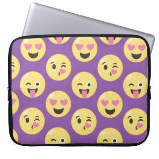 Emoji Love Pattern Laptop Sleeve