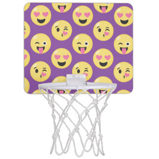 Emoji Love Pattern Mini Basketball Hoop