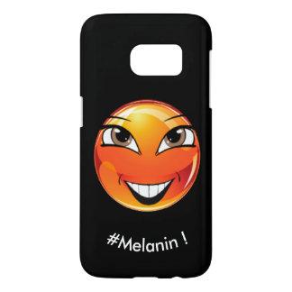 """Emoji """"Melanin !"""" by ReneeAB9 Samsung Galaxy S7 Case"""
