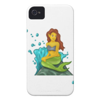 emoji mermaid iPhone 4 cover
