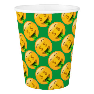 EMoji Money Face Party Supplies Paper Cup