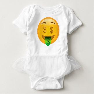 Emoji Money Man Baby Bodysuit
