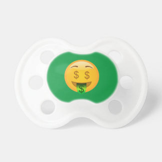 Emoji Money Man Pacifier