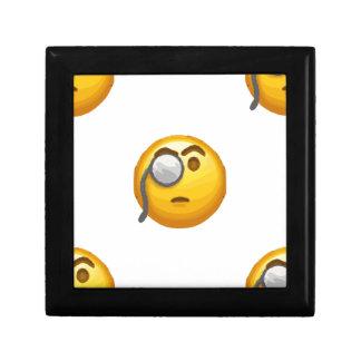 emoji monocle gift box