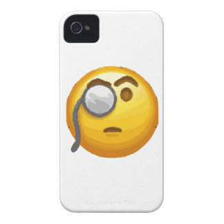 emoji monocle iPhone 4 Case-Mate case