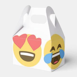 Emoji Party Favor Box- Emoji Faces Favor Box