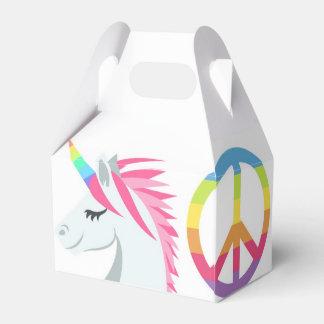 Emoji Party Favor Box- Peace, Love, Unicorn, Donut Favor Box
