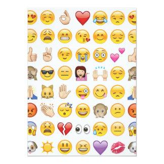 emoji party invitation