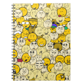 Emoji Pattern Notebook