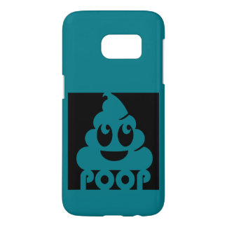 Emoji Poo Square Samsung Galaxy S7 Case