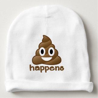 Emoji Poop Happens Baby Beanie