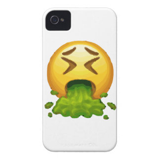 emoji puking iPhone 4 case