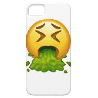 emoji puking iPhone 5 cover